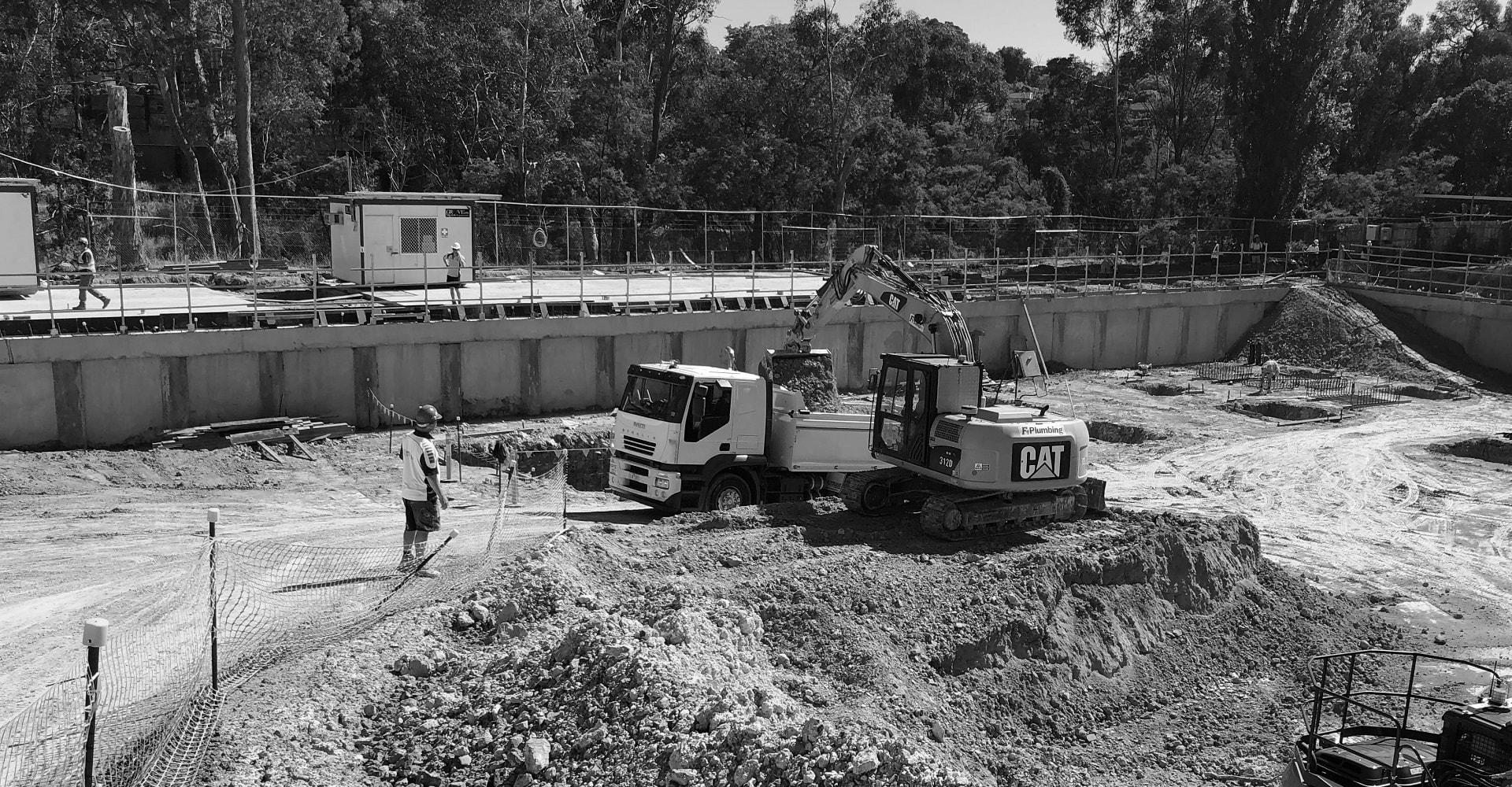 Bulk Basement Excavation